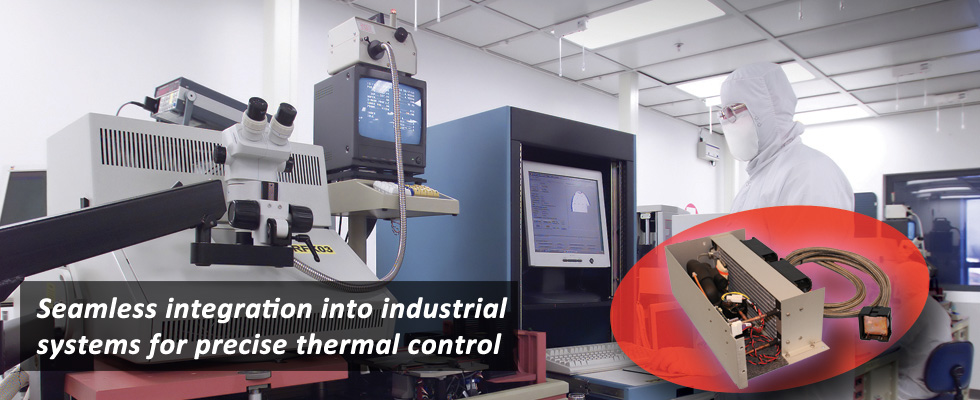 Industrial Chiller with Active Thermal Management