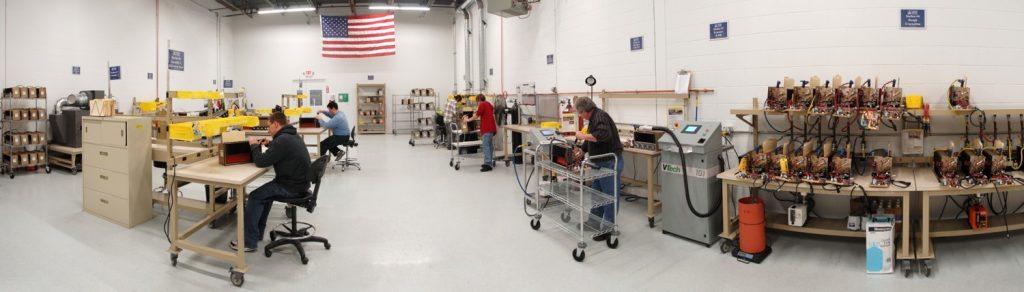 Aspen Production Floor